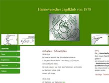 Tablet Preview of hjkvon1878.de
